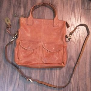 Fossil Long Live Vintage Hobo Shoulder Bag